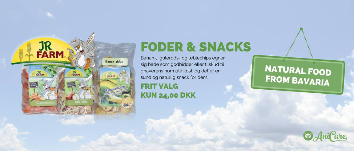Snacks fra JR Farm
