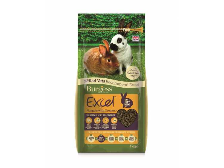 Excel Adult Rabbit - Oregano